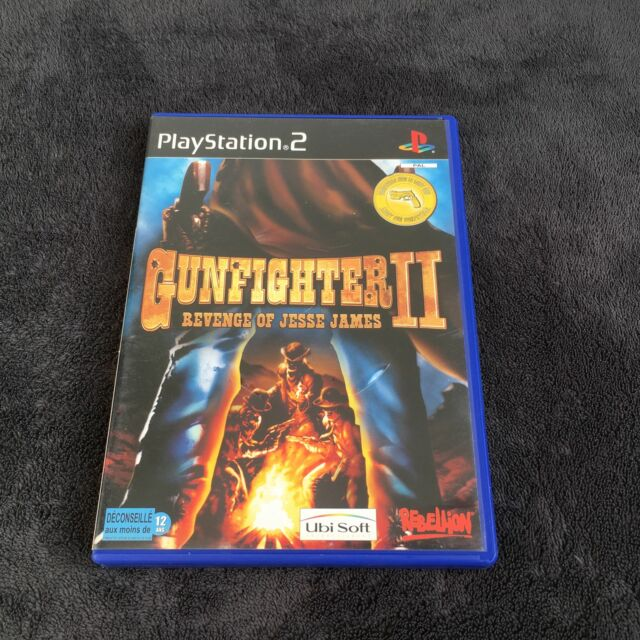 PS2 Gunfighter 2 - Revenge of Jesse James FAH CD état Neuf Playstation 2