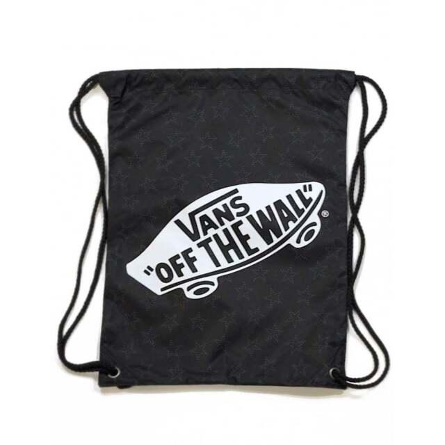 bca3909c46 VANS Benched Cinch Bag Star Dot Black PE Bag VN0MRFKJV - VANS Drawstring Bag