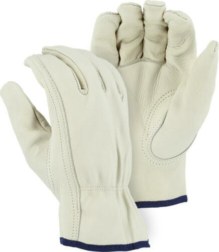 Majestic Leather Driver Gloves With Keystone Thumb,Cowhide,Small 2510B 1 Dozen