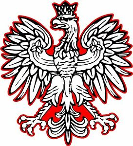 """Polish Eagle sticker Country window car TRUCK wall Graphics 6/"""" Vinyl Decals"""