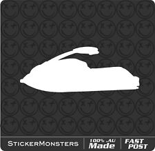 Warning Sticker Decal SHO FZS FX VX Waverunner Jet Ski Wave Runner Water Lake