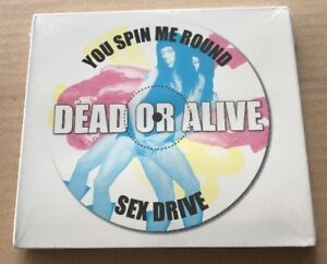 SEALED-Dead-Or-Alive-You-Spin-Me-Round-Sex-Drive-Rare-USA-2-x-Cd-1999