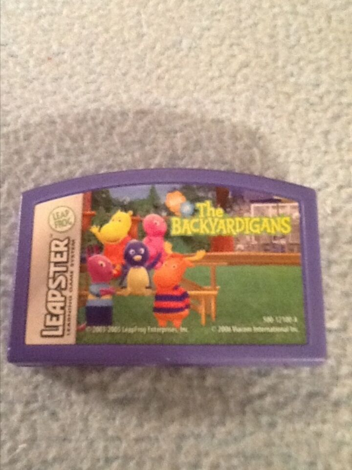 Leap Frog Leapster The Backyardigans Educational Game