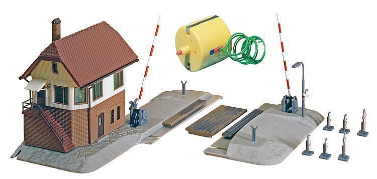 Faller 222170 passaggio a livello con dispositivi di comando fabbrica Kit Per Traccia N nuovo