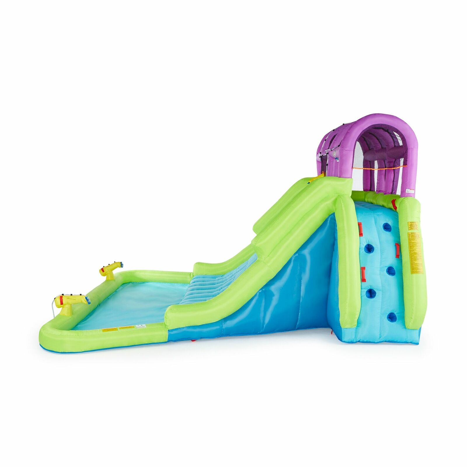 Inflatable Water Park Crocodile Island Slide Blast Zone For Sale Online Ebay