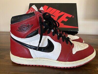 1985 Original Nike Air Jordan 1 OG Dunk