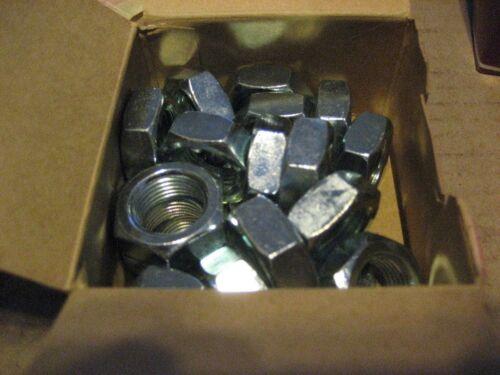 AA7449-40 3//4-16 ZINC FINISH HEX JAM NUTS 40 PCS