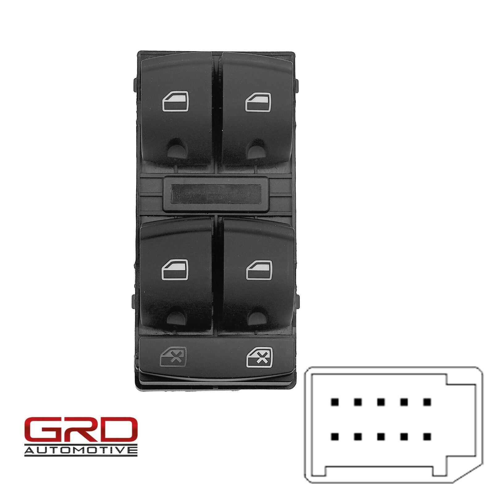 Audi A3 S3 RS3 Q7 4L Schalter Fensterheber Chrom Window lifter switch