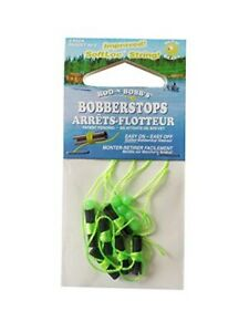 Chartreuse Pack of 40 ROD N BOBBS Bobber Stops and Beads