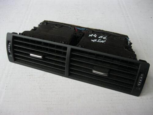 Lüftungsdüsen Lüftungsdüse mittig BELEUCHTET Audi A4 B6 B7 schwarz 8E0820951H