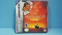 Lion King 1 1/2 (nintendo Game Boy Advance, 2003) - See Details