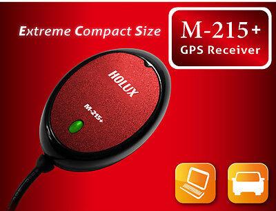 Holux M-215Plus M-215+ GPS & Glonass USB Receiver ☆66 CH ☆Waterproof ☆Ship w No.