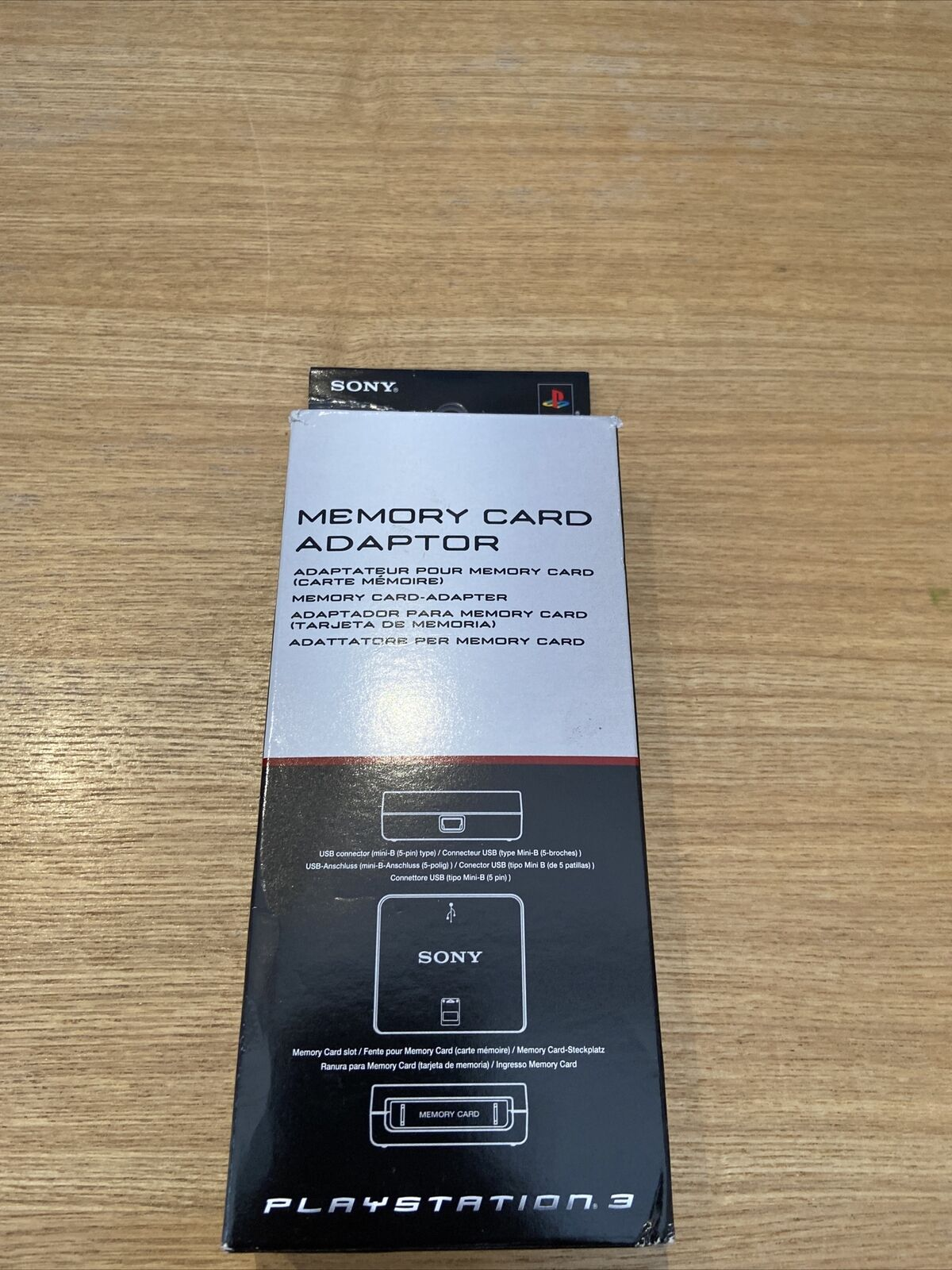 Boxed Official Playstation Memory Card Adapter - Playstation 3 (TESTED/WORKING)