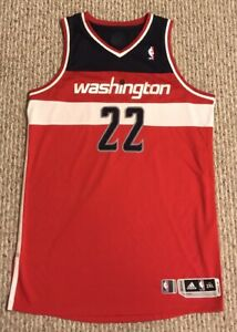 hot sale online 8c83c 5d583 Details about Otto Porter Jr Washington Wizards Game Worn Used Issued  Adidas Rev30 Jersey 2XL