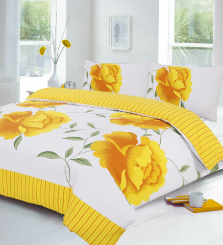 Complete Duvet Cover Matching Valance Bedding Sheet Single Double King Rosaleen