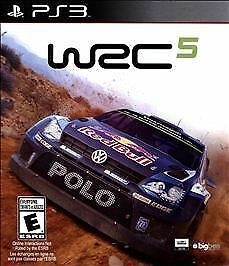 wrc 5 w case sony playstation 3 ps ps3 game world rally. Black Bedroom Furniture Sets. Home Design Ideas