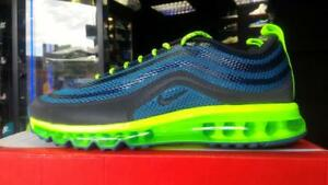 Details about NIKE AIR MAX 97 2013 HYPERFUSE NIGHT FACTOR NEON DS QS RARE 95 90 98 1 TN UK7