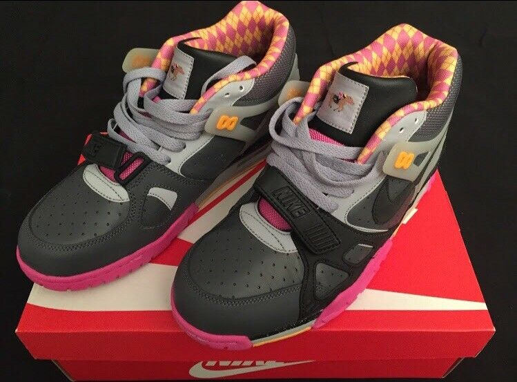 "Nike Air Trainer 3 PRM QS ""Bo Knows Horse Racing"" US Men Size 8"