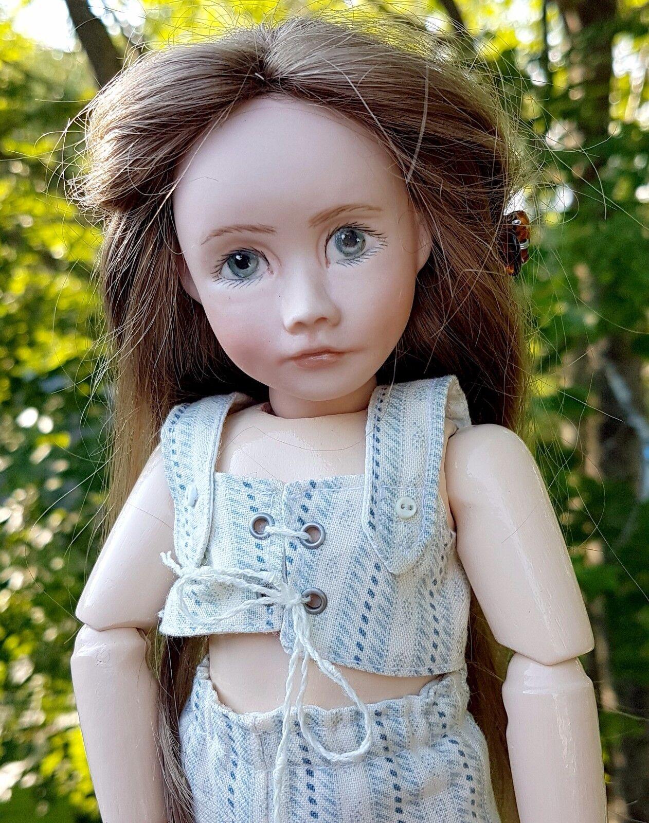 Uno de una tipo muñeca de cuerpo de madera de composición Misty promotora bjd articulado Hermoso Mar Celta
