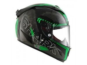 casque-casco-helmet-integral-SHARK-RACE-R-PRO-CINTAS-BLACK-KGA-taille-XL-61-62