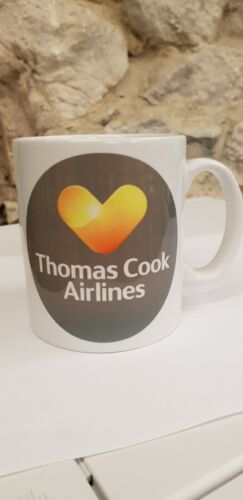 Thomas Cook Airlines Logo Cup Mug Airline Holiday Company