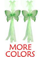 Butterfly Tiebacks Crystal Curtain Window Holdback Tie Backs Girls Room Decor