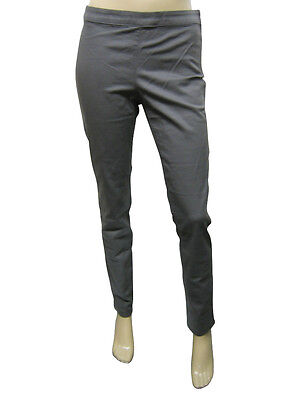 2d7cbc5fbbd003 Details about Womens F&F Trousers Slim Skinny Fit Soft Cotton Dark Grey  Size 6 to 22 D2.4