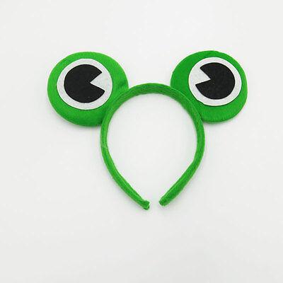 Green Frog Eyes Alice Hair Band Headband Ears Fancy Dress Party Hen Accessories