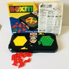 Vintage 1991 TOMY Hexit Puzzle Board Game - Fast &