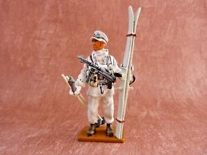 5a01bb0132fbb2 Soldat de plomb Delprado WWII - Oberfedwebel ski-jäger brigade Germany 1943  - France -