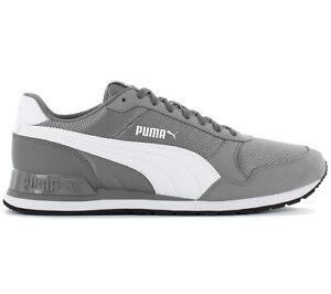 Puma ST Runner V2 Mesh Herren Sneaker 366811-06 Grau Schuhe