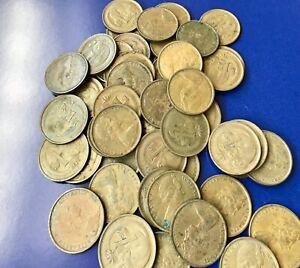 1968-1-Cent-Australian-Decimal-Coin-Key-Date-Ungraded