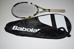 Babolat Aero Pro Drive Tennis Racquet / Racket With Cover 100 Head Size READ