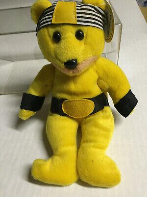"JC Celebrity Bears /""Hulk Hogan/"" Born A Star #7 Beanie new"