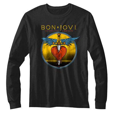 Bon Jovi You Give Love A Bad Name Classic Rock Band Youth Toddler Boy Girl Shirt