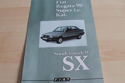 Fiat Regata 122435 Prospekt 10/1987 Sx