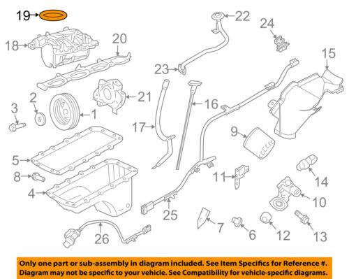 FORD OEM Throttle Body-Gasket 3L3Z9E936AA