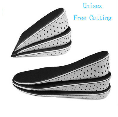 Insole Heel Lift Insert Shoe Pad Height Increase Cushion Elevator Taller HOT S!