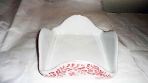 Portatovagliolo-quadrato-in-Ceramica-Sorrentina-cm-18x18x8-Rosa-Antico