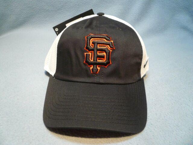 Nike San Francisco Giants BRAND NEW curved bill Strapback hat cap dri fit  Fran 99692c2c09f
