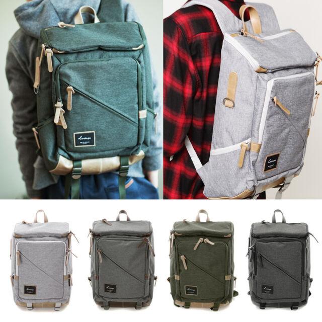 Korea Fashion Cross Line Backpack School Travel Business Sport Bag Unisex Couple