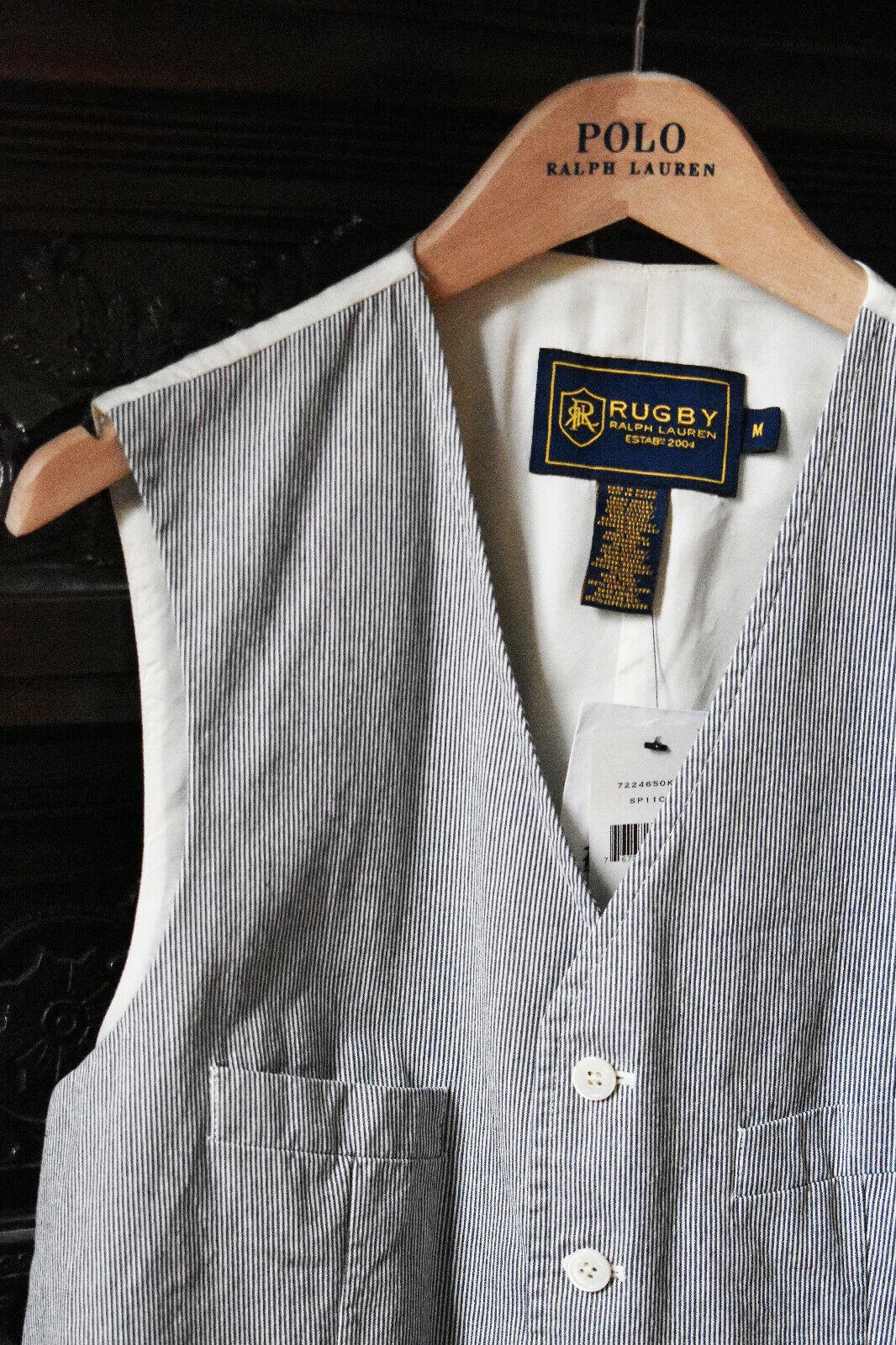 RA RE Herren Pullover KARO in Blau Weiß Größe L: