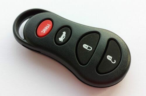 4 touches Button voiture télécommande Boîtier pour Chrysler Jeep Clé avec panique
