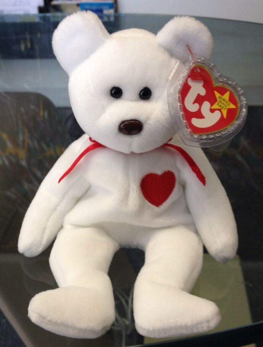 Ty beanie baby valentino 1993 ursprünglichen zustand im ruhestand noch nie benutzt.