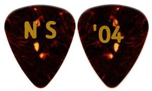 JOURNEY-Guitar-Pick-2004-Tour-Neal-Schon-gold-tortoise-039-04-signature