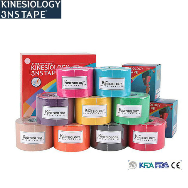 3NS tape valuable Kinesiology therapeutic sporting tape 5cm x 5M