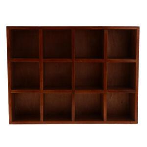 Organisateur-Presentoir-etagere-Murale-Avec-12-Compartiments-Home