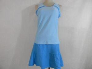 M de plissé Fit Dry spandex Nike jupe tennis polyester Multi et Blues Débardeur en short vd6qv