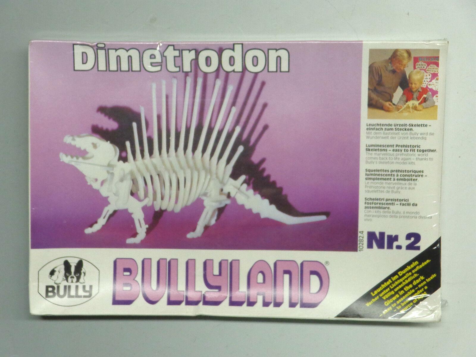 Bully Bullyland Dimetrodon Dinosauri modellllerlerl Kit Skeleton Nr 2 MIB SEALD 1979 MISB