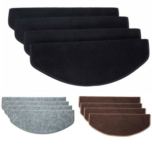 15Pcs//Set Stair Tread Carpet Mats Step Staircase Non Slip Protection Cover Pads